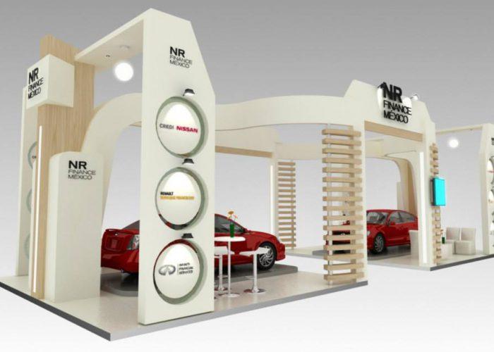 Stand Nissan + Renault